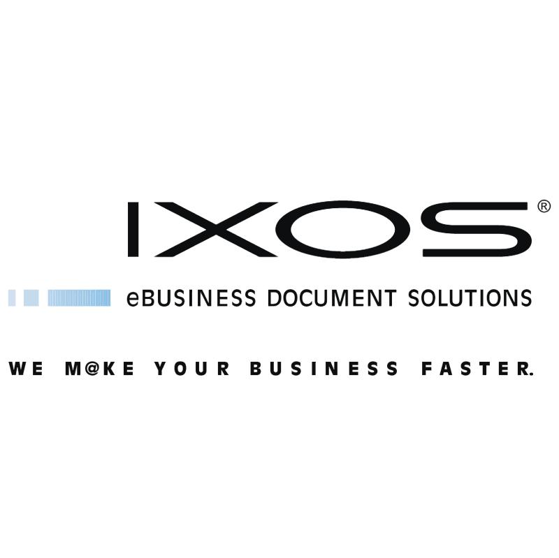 IXOS Software vector