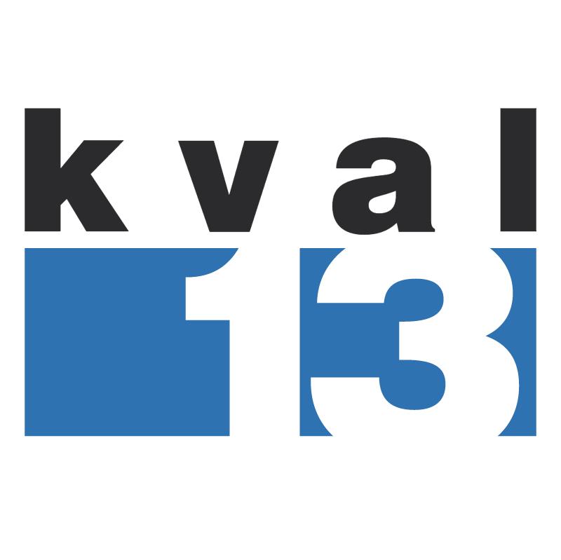 KVAL 13 vector logo
