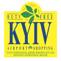 Kyiv Airport Shopping vector