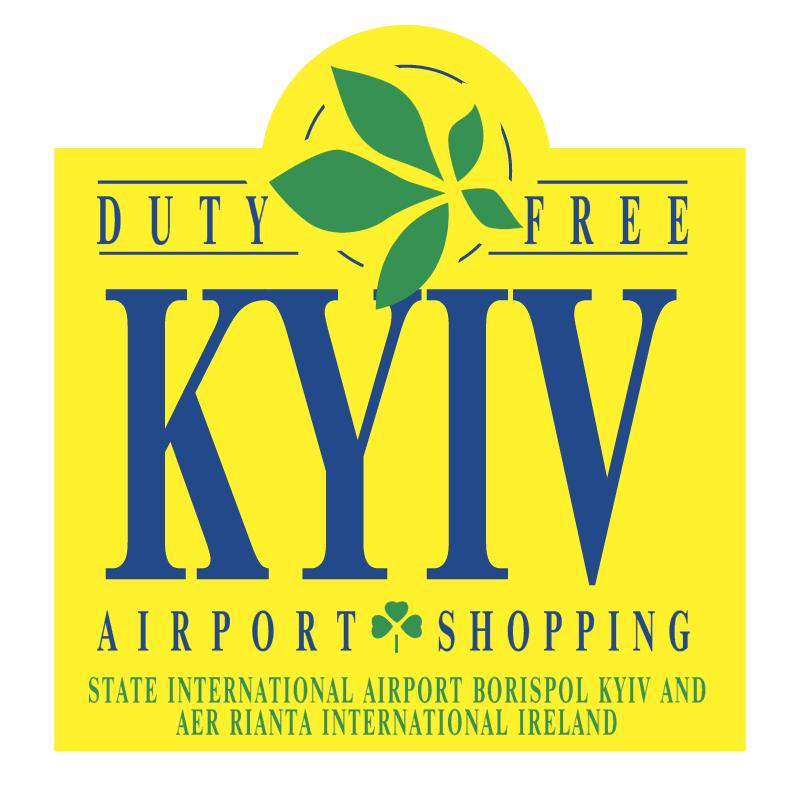 Kyiv Airport Shopping vector logo