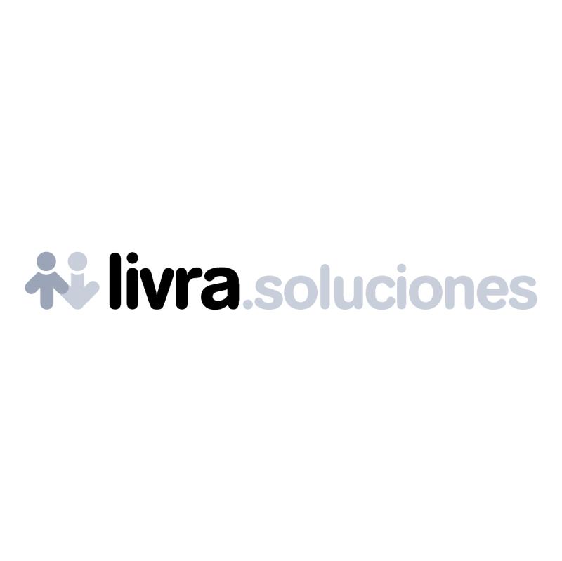 Livra soluciones vector logo