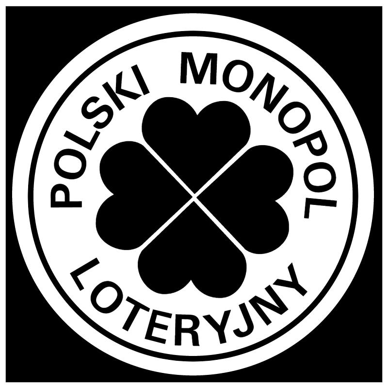Loteryjny Polski Monopol vector