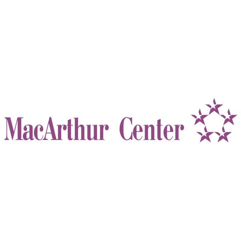 MacArthur Center vector logo