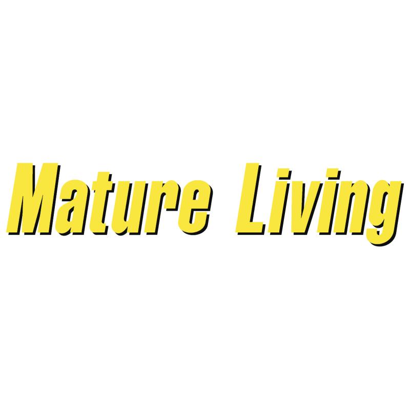 Mature Living vector