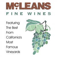 McLeans Fine Wines vector