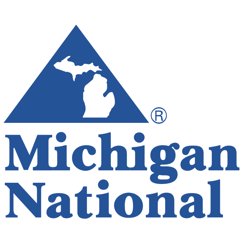Michigan National vector