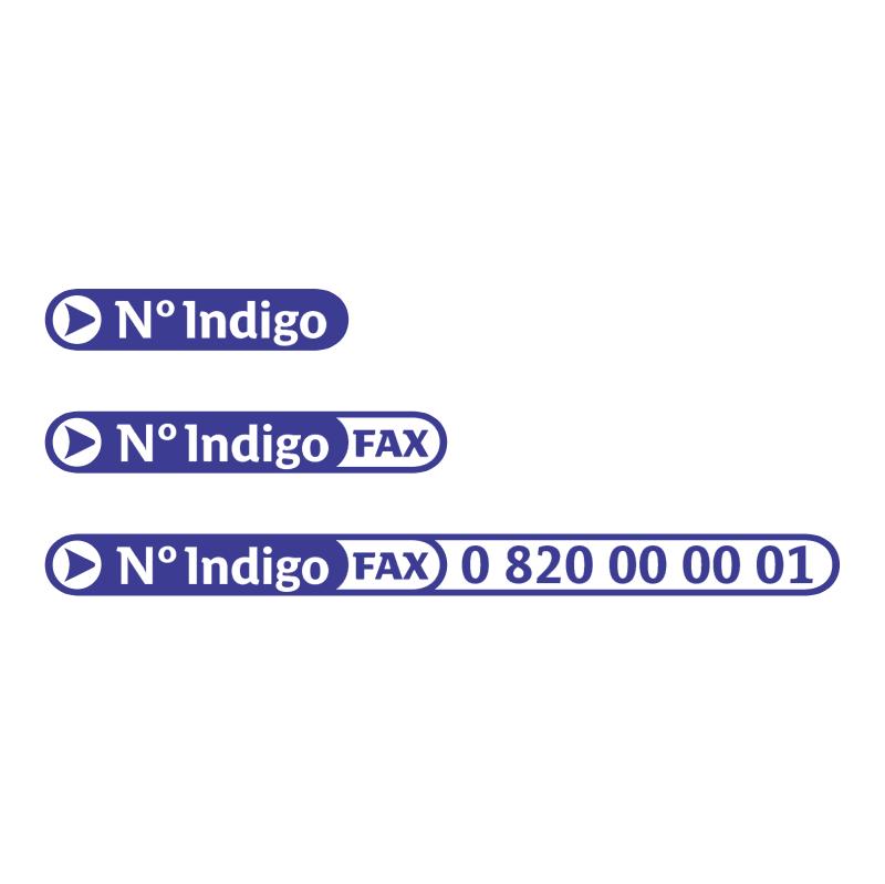 N Indigo vector