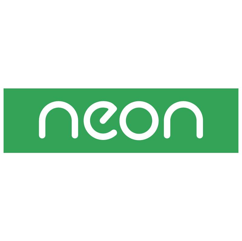 Neon vector logo