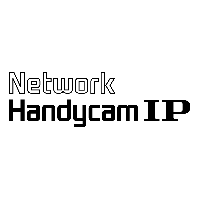 Network Handycam IP vector