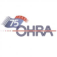 OHRA 75 jaar vector