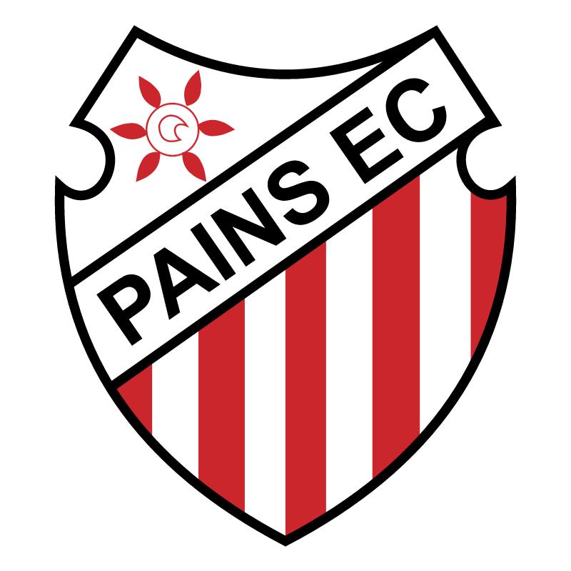 Pains Esporte Clube de Pains MG vector