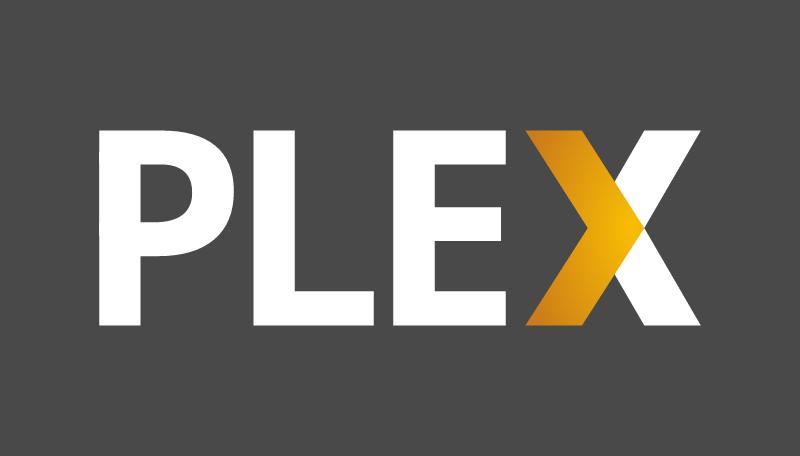 Plex white vector logo