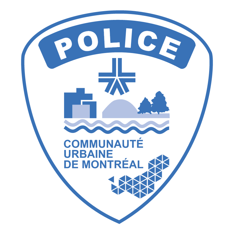 Police de Montreal vector