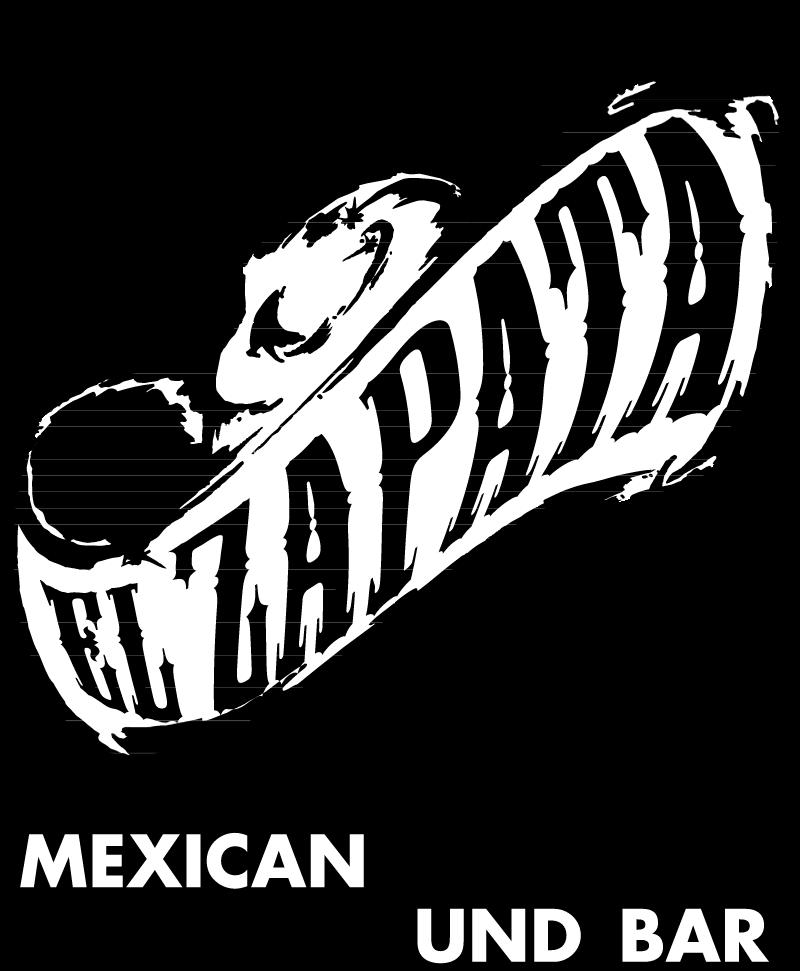 Restaurant El Zapata vector