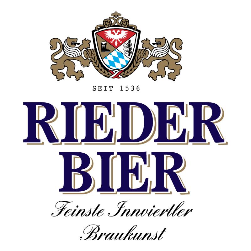 Rieder Bier vector