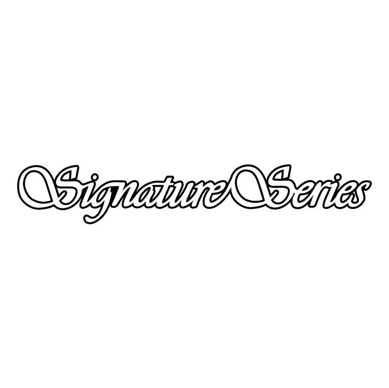 Signature Series vector