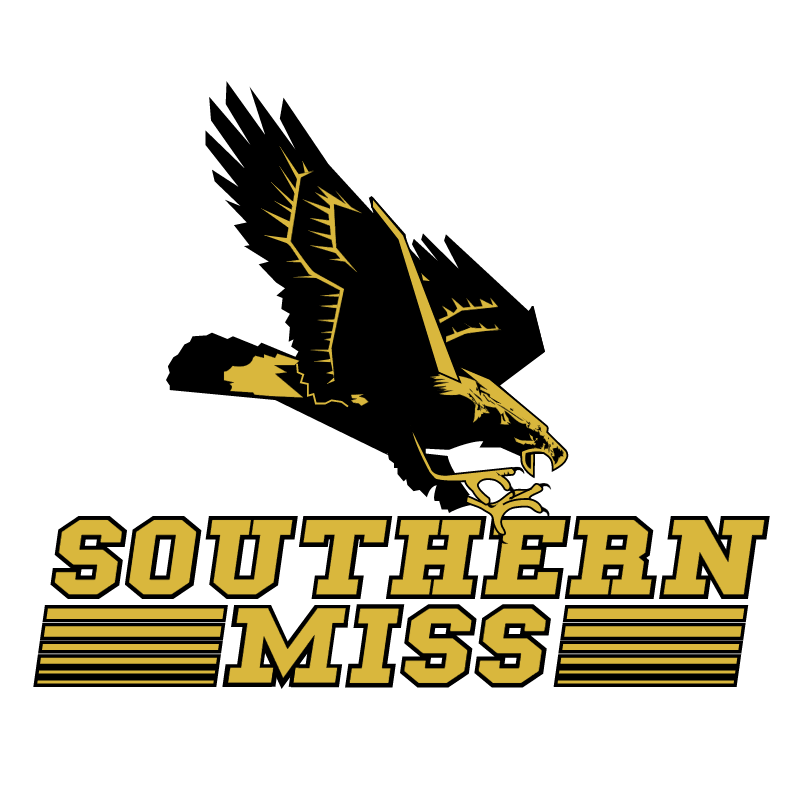 Southern Miss Golden Eagles vector
