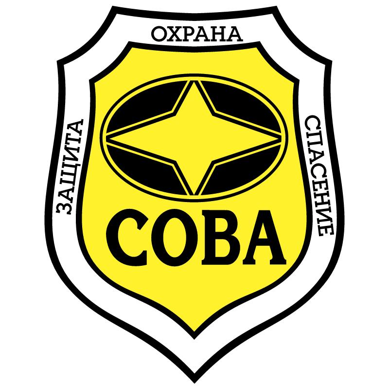 Sova vector logo