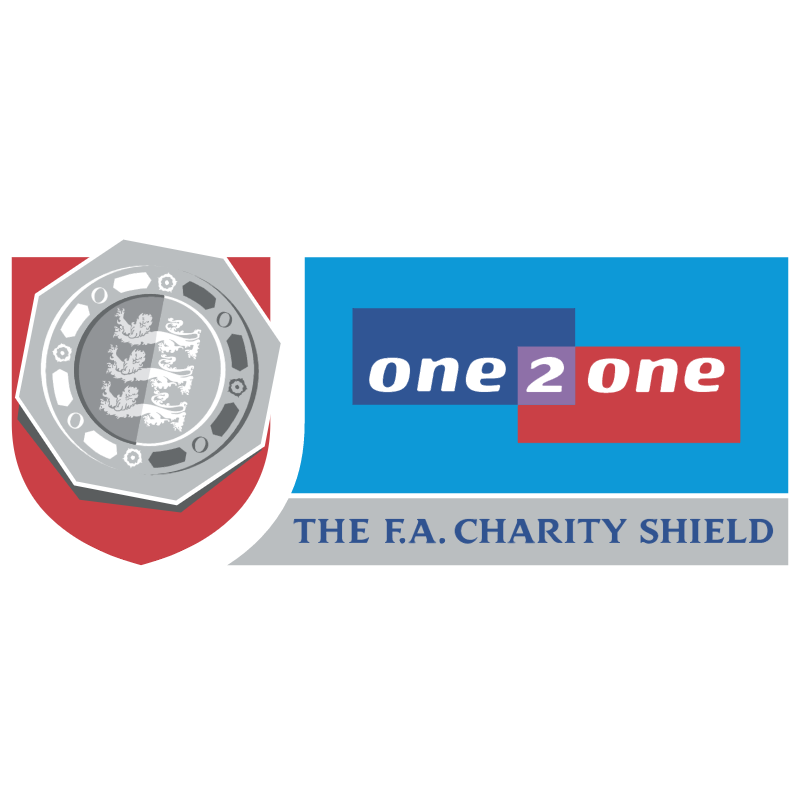 The FA Charity Shield vector