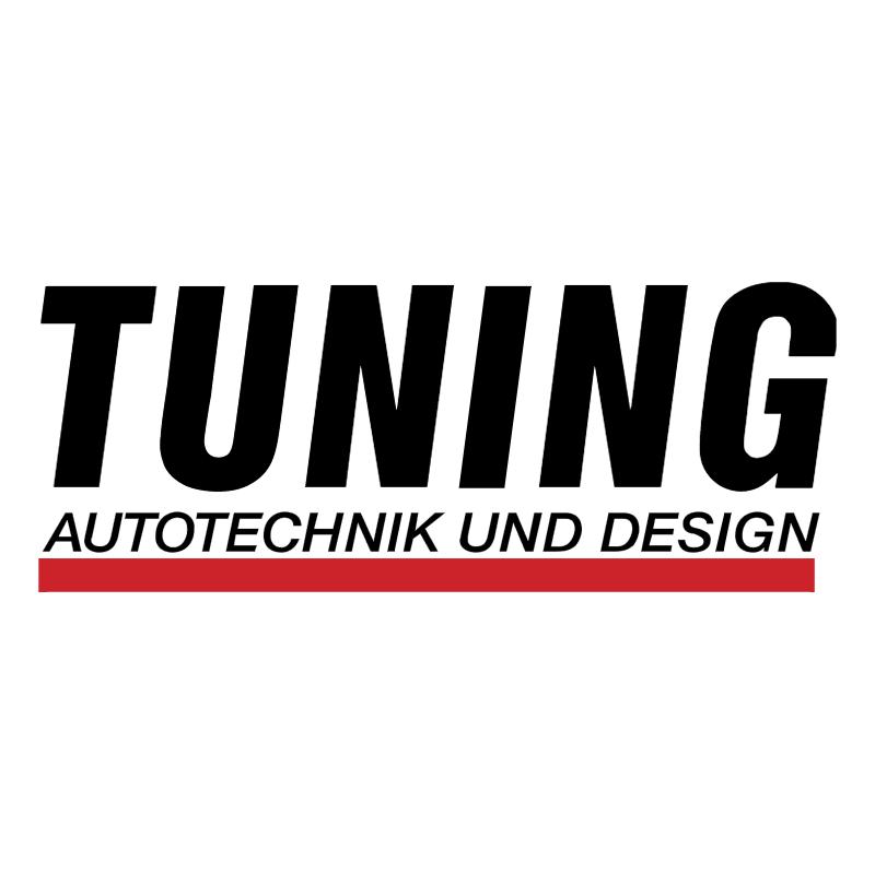 Tuning Autotechnik und Design vector