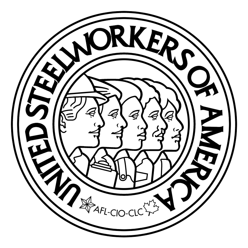 United Steelworkers of America vector