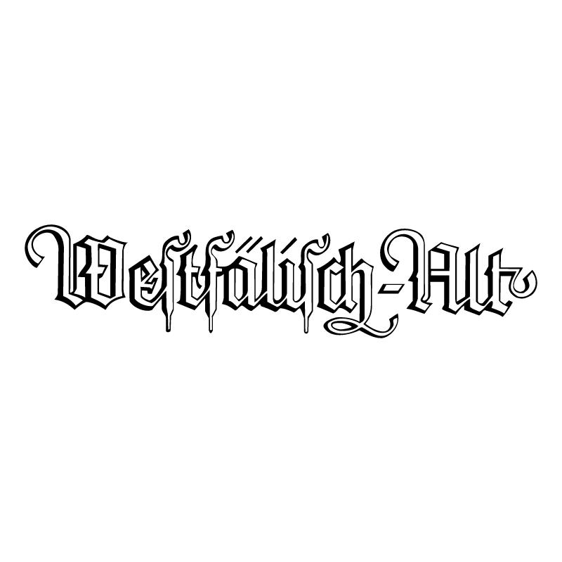 Westfalisch Alt vector