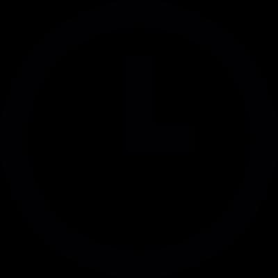 Clock mini vector logo