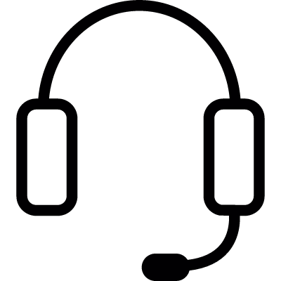 Headphone, IOS 7 symbol vector logo