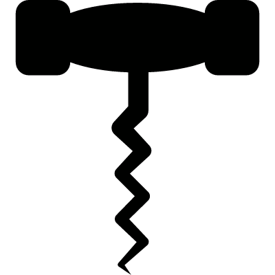 Wine Opener vector logo