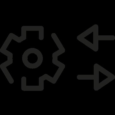 Change Sync vector logo