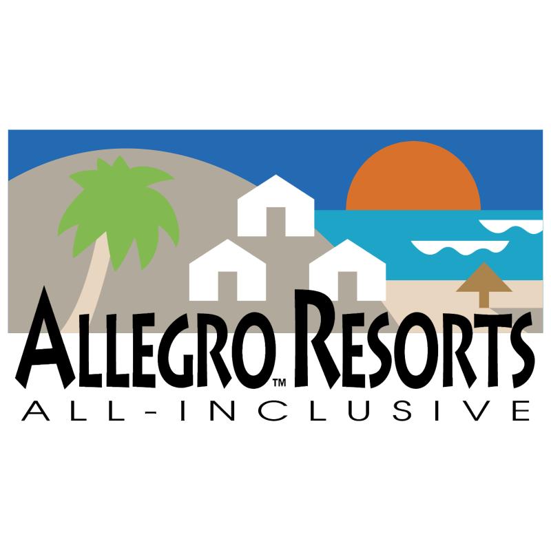 Allegro Resorts vector