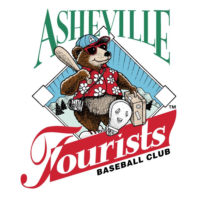 Asheville Tourists vector