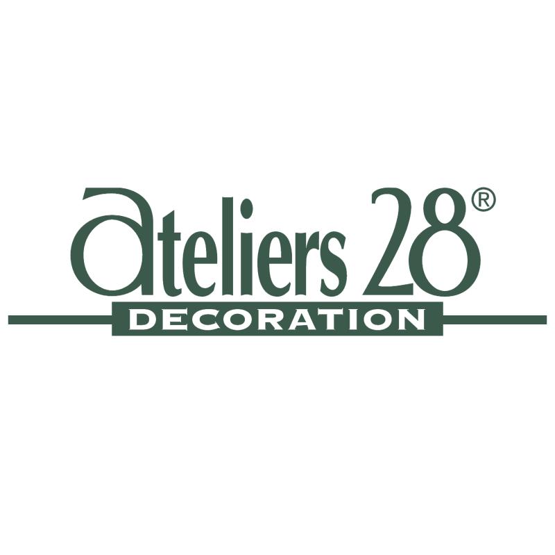 Ateliers 28 33158 vector