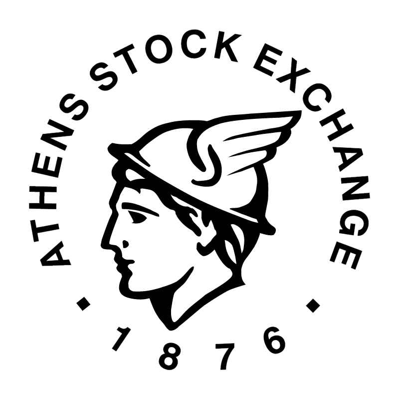 Athens Stock Exchange vector