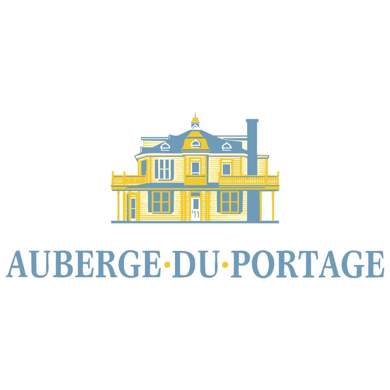 Auberge du Portage vector