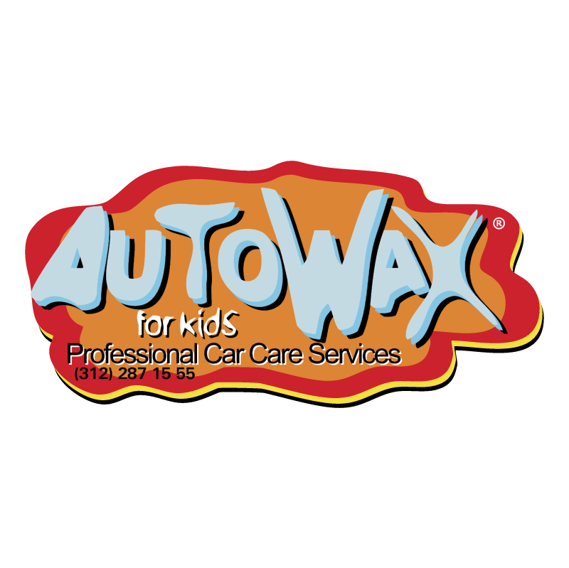 Autowax for kids vector