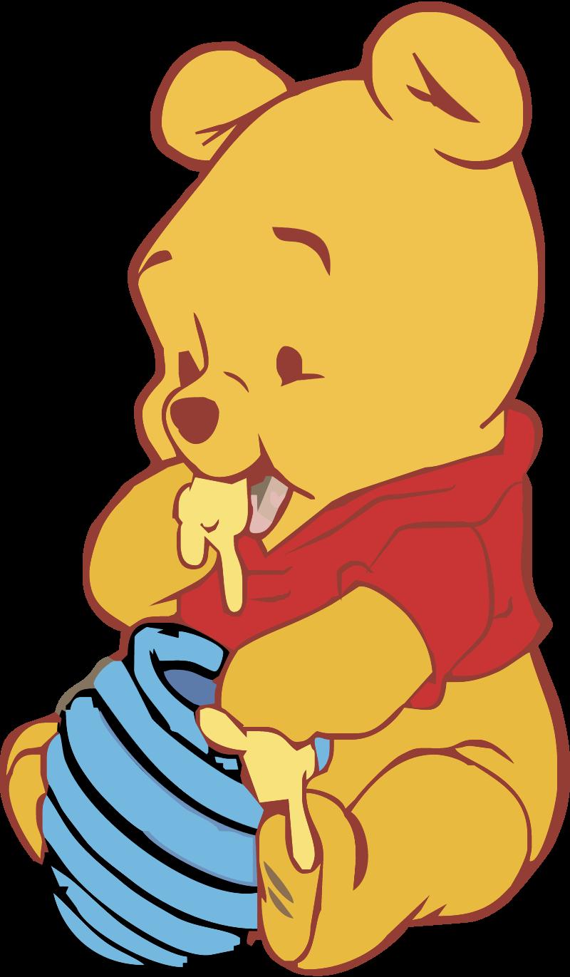 Baby Pooh vector