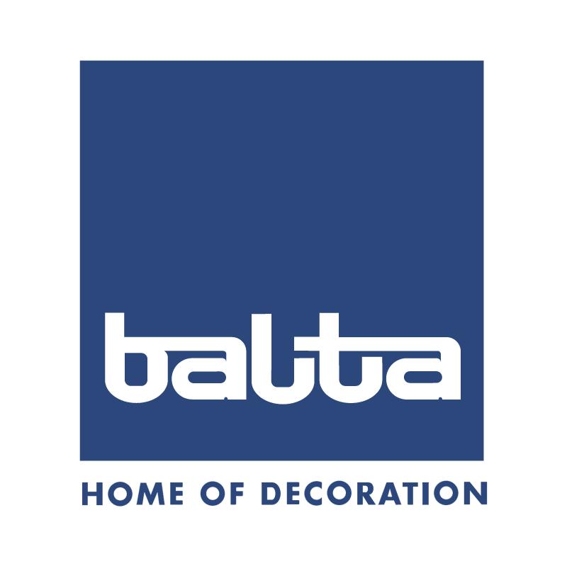 Balta home of decoration vector
