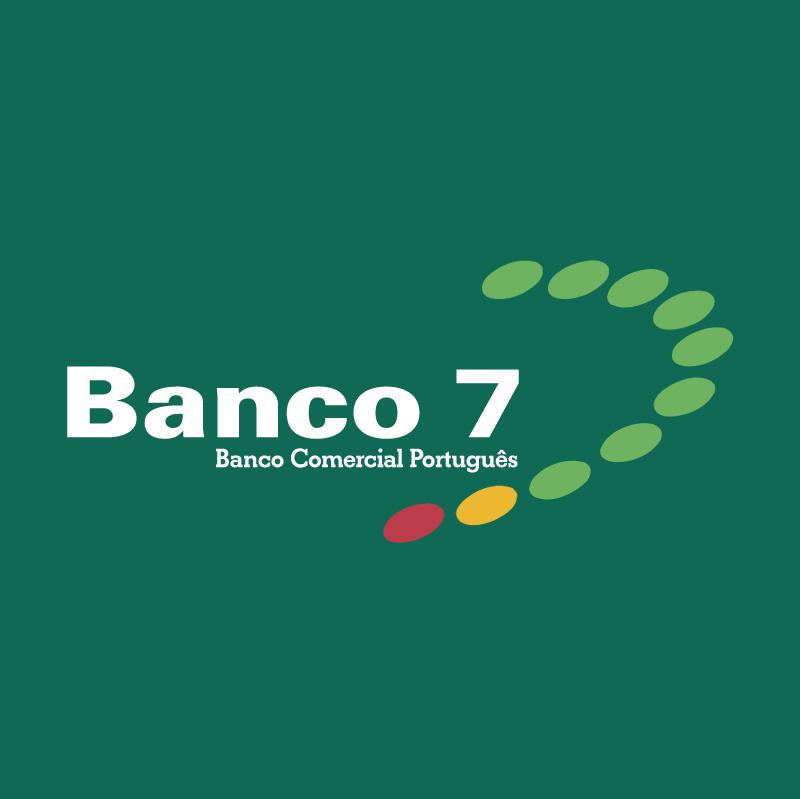 Banco 7 58992 vector
