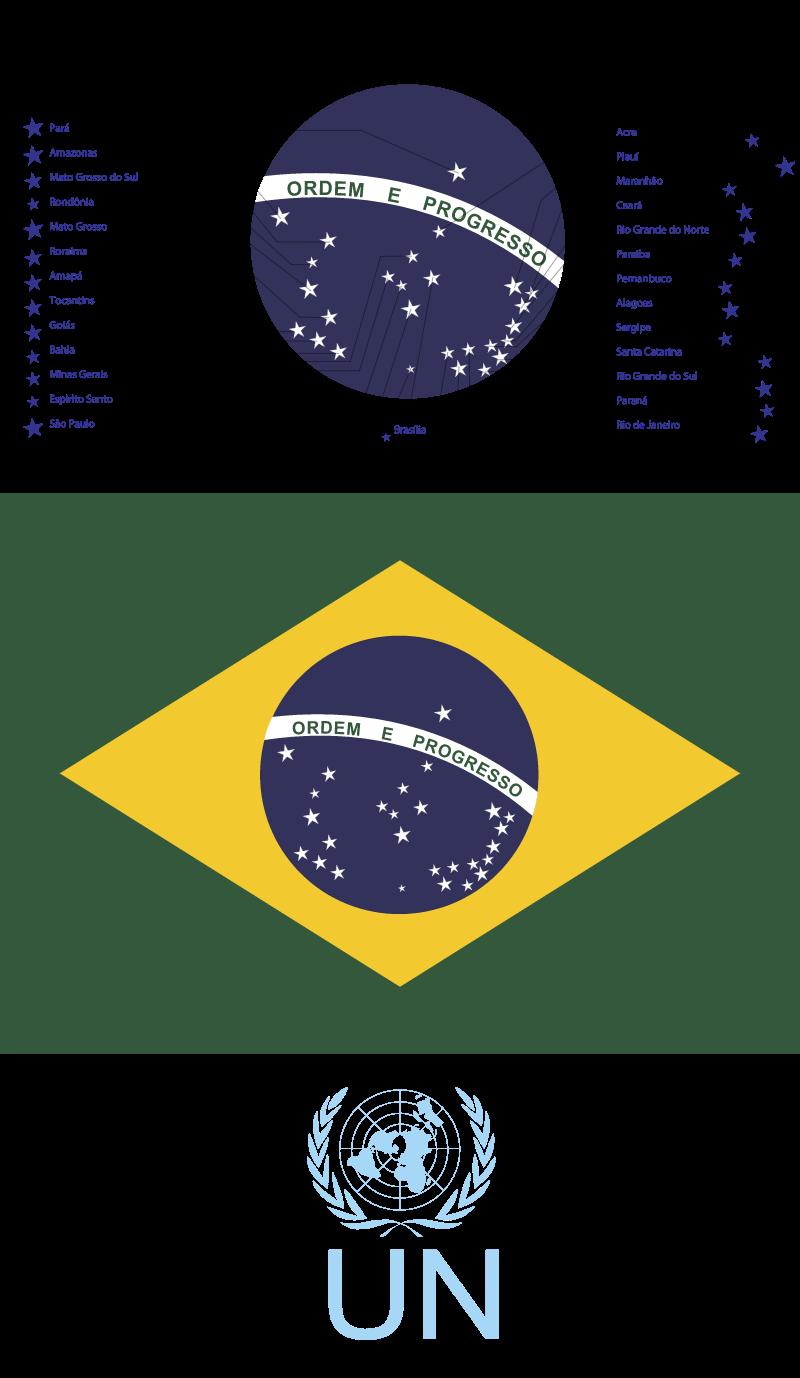 Bandeirado Brasil2 vector