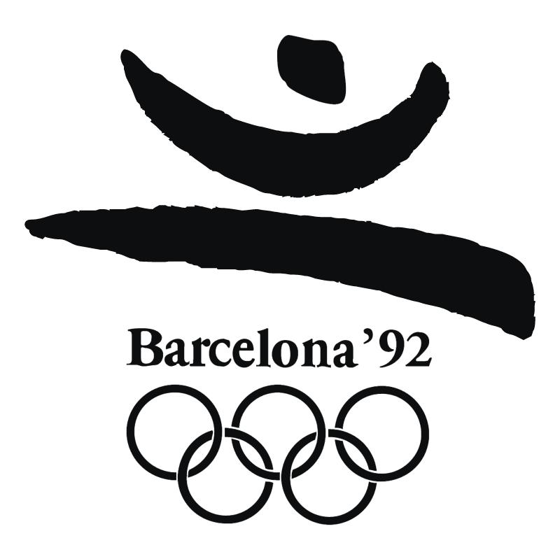 Barcelona 1992 vector logo