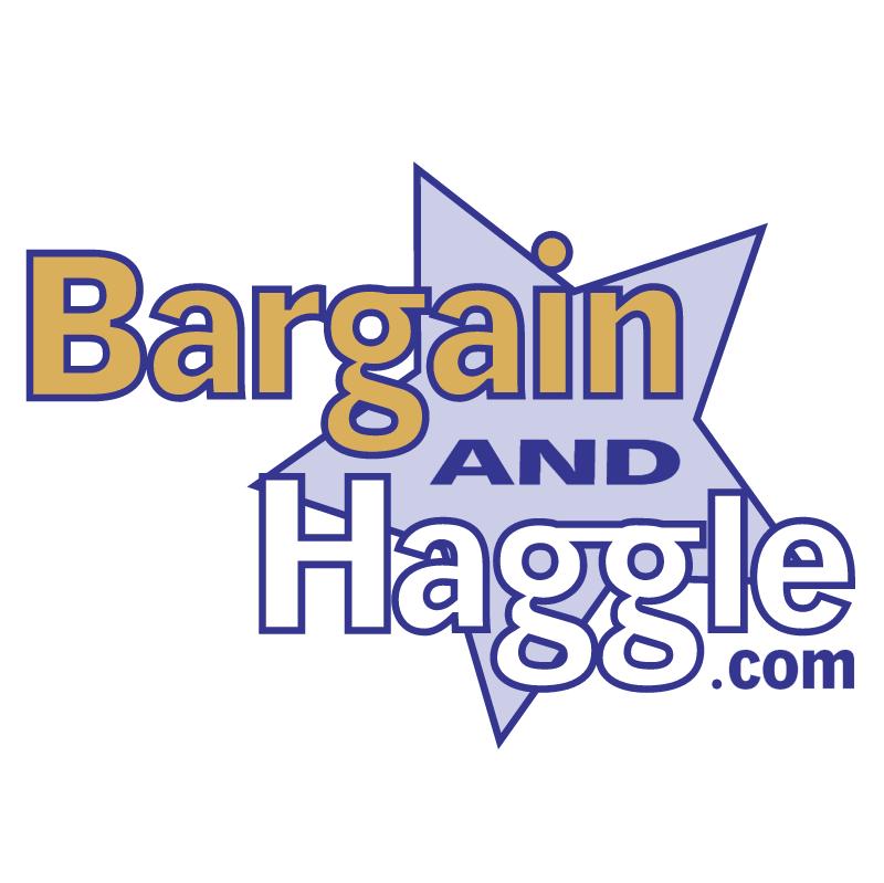 Bargain and Haggle vector