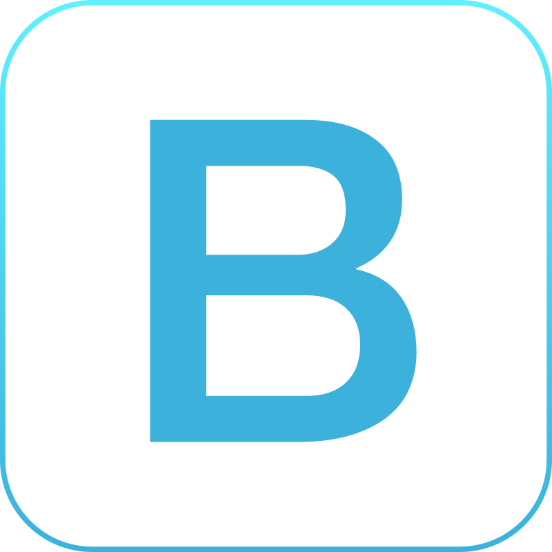 Bootstrap icon vector