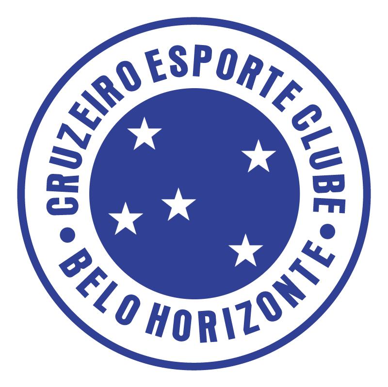 Cruzeiro Esporte Clube de Belo Horizonte MG vector