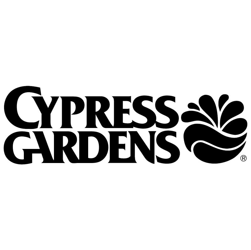 Cypress Gardens vector