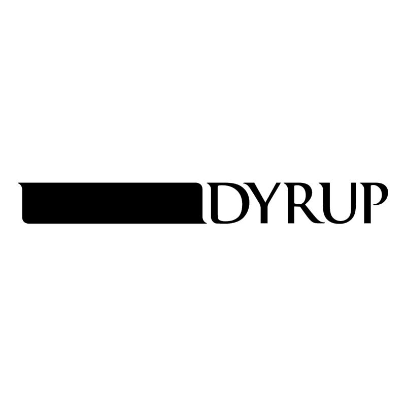 Dyrup vector logo