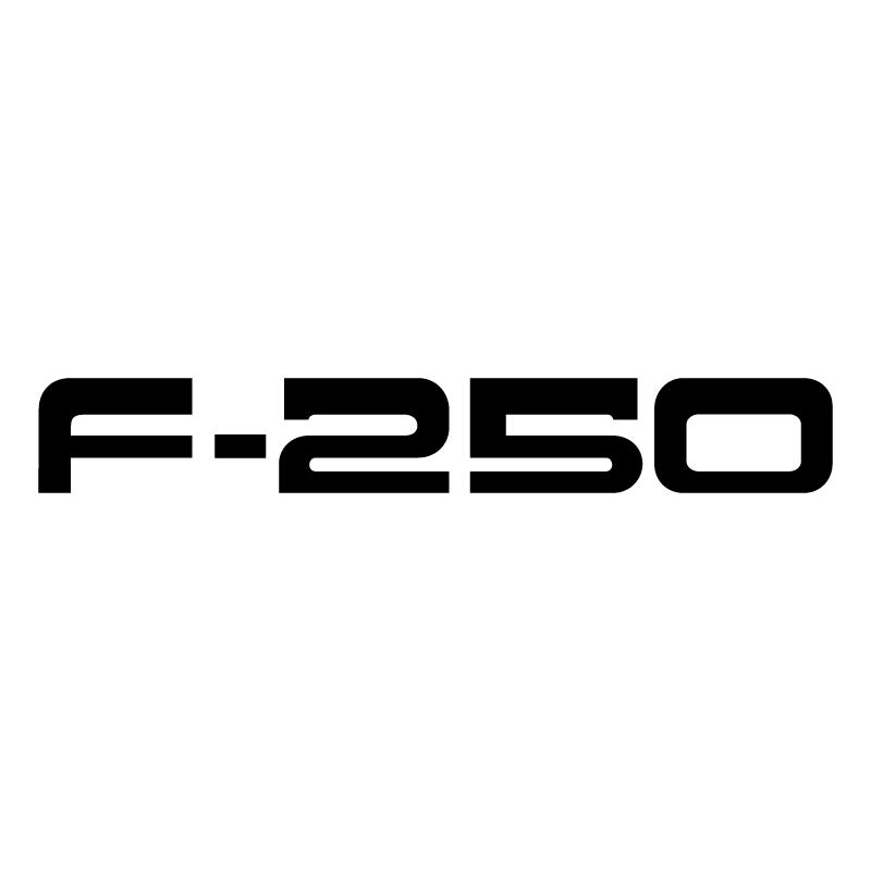F 250 vector