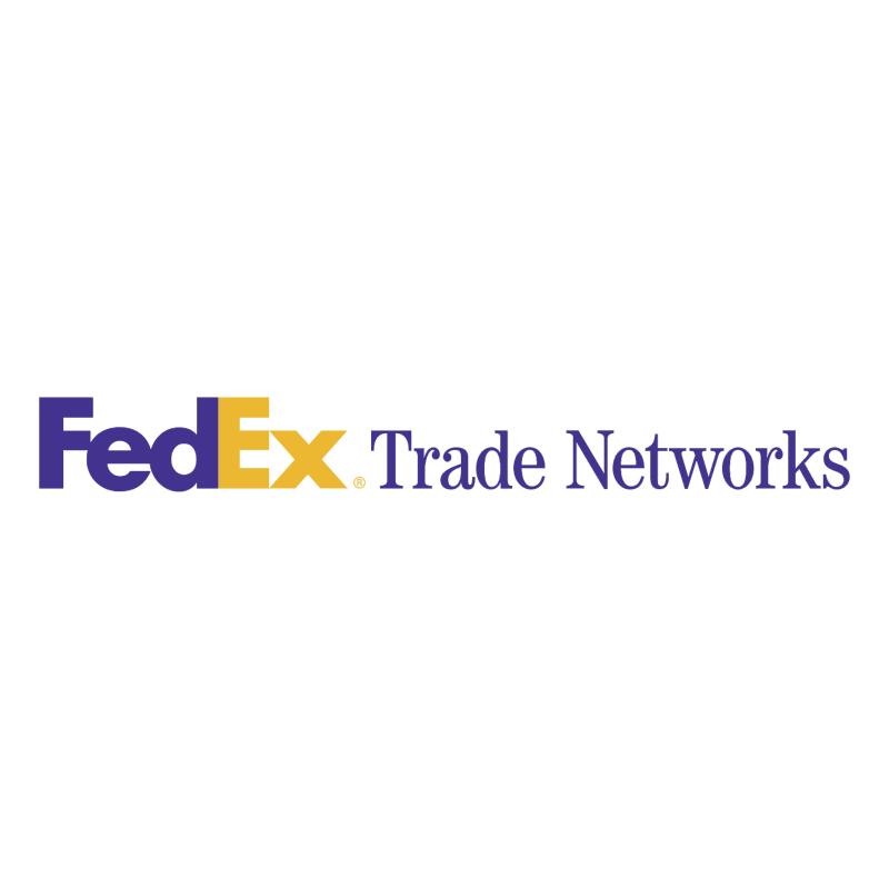FedEx Trade Networks vector logo