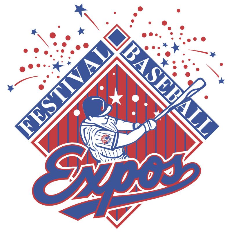 Festival Baseball Expos vector