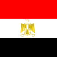 Flag of Egypt vector